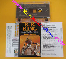 MC B.B. KING King of the blues guitar 1989 italy BLUES ENCORE no cd lp dvd vhs