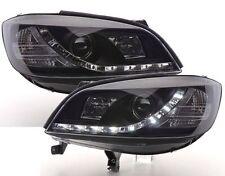 Scheinwerfer schwarz OPEL ZAFIRA 99-05 LED TAGFAHRLICHT-OPTIK mit Leuchtmitteln