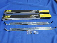 NEW 1967-72 Chevy GMC Pickup Suburban Blazer Chrome Door Sill Plates - W/ Bowtie
