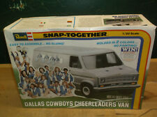 Vintage Rare Revell 1/20 Dallas Cowboys Cheerleader's Van Kit 6405 1979