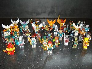 Lego Genuine - Legends of Chima / Mini Figure - Multiple Variations!