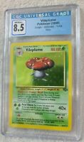CGC Vileplume Pokemon (1999) Jungle Unlimited 15/64 Holo Graded 8.5 NM/M+