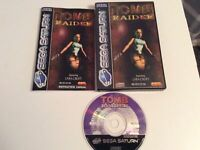 sega saturn Tomb Raider