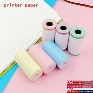 57*30mm 6 Rolls Thermal Paper Receipt Printed For Peripage A6 Paperang Printer