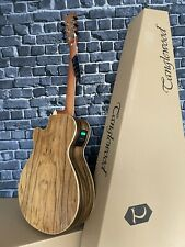 More details for walnut electro acoustic guitar & lead rrp £292 tanglewood dbt sfce pw discovery