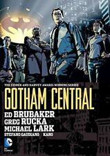 Gotham Central Omnibus by Ed Brubaker Hardcover DC Comics Brand New