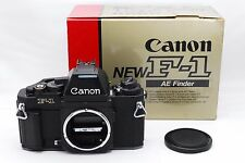 """""""Exc+++"""" Canon New F-1 AE Finder 35mm SLR Film Camera Black Body From Japan #449"""