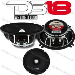 DS18 PRO FR5NEO 5.25″ Neodymium Midrange Speaker 400W Max 4 Ohm Neo (Set of 1)