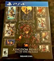 KINGDOM HEARTS: ALL-IN-ONE PACKAGE PS4 NEW SEALED US English & More REGION FREE
