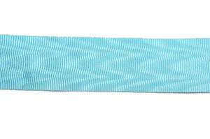 Ribbon Masonic Water waves Sky Blue 32mm wide