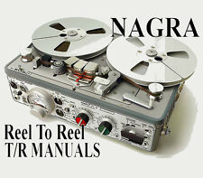NAGRA Reel To Reel & Discontinued Tape Recorder MANUALS on DVD-Rom