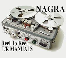 Nagra carrete a carrete & discontinuado Grabadora Manuales En Dvd-rom