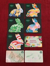 8 New Starbucks 2021 Easter Gift Cards Lot 50 Years Anniversary Siren Limited
