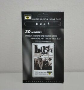 Spotlite Limited Edition Phone Card Bush Collector Series 1