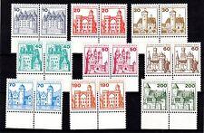 Berlín, castillos y cerraduras 532 -540 en unterrandpaaren post frescos completamente