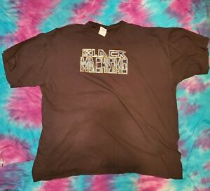 Black Machismo Jay Lethal TNA IMPACT WRESTLING 2XL Black T Shirt