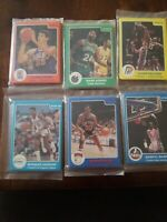 1984, 1985, 1986 STAR Basketball Factory Team Sets Sealed Lot(6)
