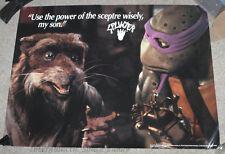 1993 TMNT Teenage Mutant Ninja Turtles Fan Club Only Large Movie Poster Splinter
