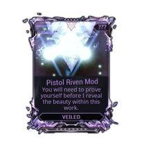 Warframe Veiled Riven Mods (PC)