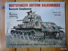 BEUTEPANZER UNTERM BALKENKREUZ Russiche Kampfpanzer PODZUN VERLAG
