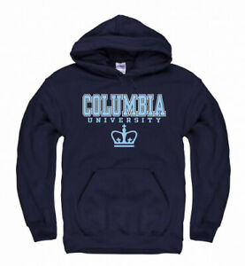 (Small) - Campus Colours Columbia Lions Arch & Logo Gameday Hooded Sweatshirt