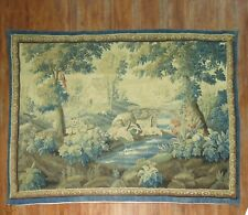 Antique French Tapestry 18th Century Size 10'9''x8'1''