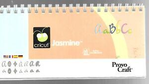 Cricut Jasmine Handbook Only No Cartridge Provo Craft