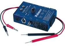 Kabeltester PALMER PRO MCT 8 für XLR Speakon Klinke Cinch DIN AHMCT 8 Kabel Test