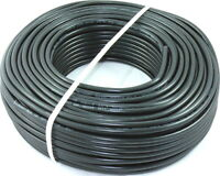 XBK Kabel 1-100m PVC Schlauchleitung Schwarz H05VV-F 3x1,5mm² 3G1,5 1010720-1