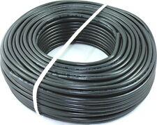 0,63€//m PVC Schlauchleitung Anschlussleitung H05VV-F 3G1,5 3x1,5 Schwarz 45m