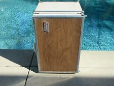 Vintage 1970s Coleman Convertible Metal Camping Ice Chest Cooler RV Refrigerator