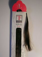 """Twisted Fringe Hair Extensions 18"""" Tape In 3R 100 % Human Remy Hair NEW"""
