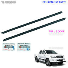 Fits Toyota Hilux Kun25 Vigo Mk6 05 - 14 Oem 2 Door Weatherstrip Window Genuine