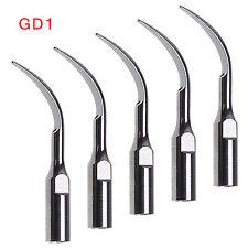5pcs Dentista Tips INSERTI PUNTE PER ABLATORE Scaler fit Satelec DTE GD1