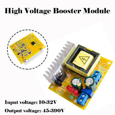 DC-DC 45-390V High Voltage ZVS Boost Converter Step-up Booster Module