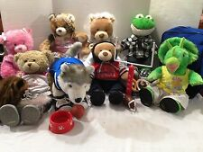 BUILD A BEAR CHOOSE A FRIEND WITH CLOTHES AND ACCESSORIES CHOICE OF 1 PER $8.95