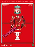 Liverpool v Arsenal CARABAO CUP 4TH ROUND Matchday Programme 1/10/20! IN STOCK!!