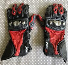 TUZO Motorcycle Gloves Size Xtra Large XL Armoured Red Black