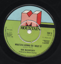 DAN McCAFFERTY - WHATCHA GONNA DO 'BOUT IT. (UK, 1975, MOUNTAIN, TOP 5)