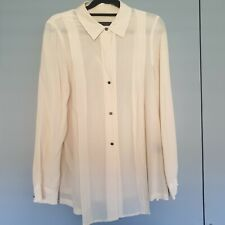 MARC BY MARC JACOBS 100% Silk Shirt Size US 8