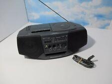 Sony Mega Bass Cd Radio Tape Recorder Boombox Cfd-V15 Read Desc Missing Knobs