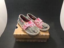 Toms Toddler Shoes Size T11, Pink And Grey