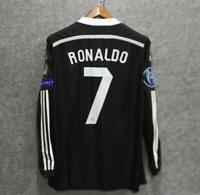 ronaldo 2014 real madrid retro soccer shirt classic football jerseys vintage