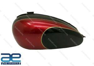 For Triumph T150 Trident Cherry & Black Painted Petrol Fuel Gas Tank ECs