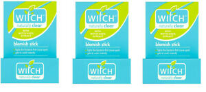 3 X Witch Naturally Clear Blemish Stick, 10g FREE POSTAGE