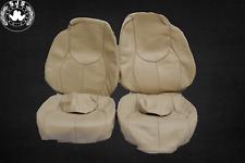 Sitzbezüge Bezüge passend  für Mercedes SL R129 ab Bj.96,  beige creme  NEU