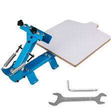 1 Color 1 Station Silk Screen Printing Machine Press Equipment T Shirt Pressing