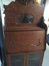 Antique Larkin Soaps Desk - Oak Drop Front - Secretary - Country Store Cabinet