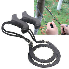 Camping Hiking Emergency Survival Hand Tool Kit Gear Pocket Chain Saw Chain Saw