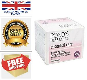Ponds Essential Care Triple Action Moisturiser Day and night Cream Mature Skin